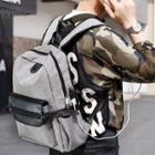 Usb Interface Canvas Panel Backpack