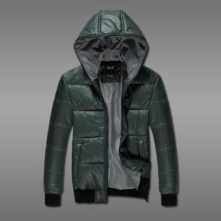 Hooded Padded Zip Jacket