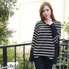 Color-block Striped Top