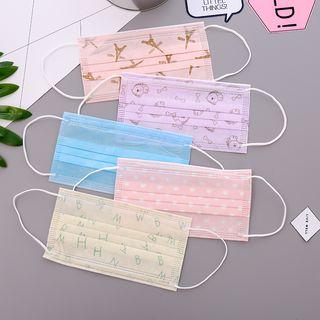 Disposable Face Masks(set Of 10)