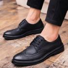 Pointed Brogue Shoes