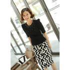 Geometric Pattern Skirt
