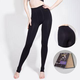 3d Cutting Tights Navy Blue - One Size