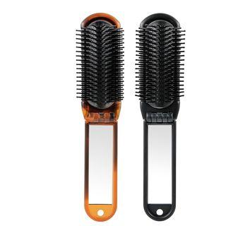 Foldable Hair Brush Brown - One Size