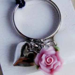 Sweetie Rose & Hesrt Ring