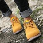 Lace-up Genuine Suede Shoes