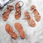 Cross Strap Roman Sandals