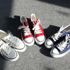 Platform Round-toe Sneakers