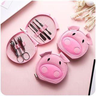 Pig Manicure Kit Pink - One Size