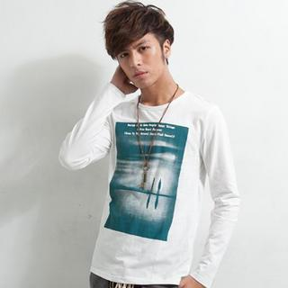 Long-sleeve Printed T-shirt