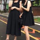 Plain Sleeveless Dress / Midi Sleeveless Dress
