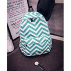 Wavy Striped Backpack