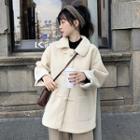 Toggle Coat White - One Size
