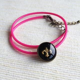 Pink Scout Double Bracelet One Size