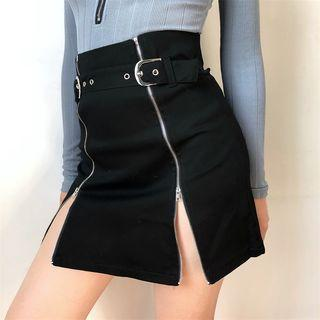 Zip-up Skirt