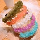 Mesh Floral Headband