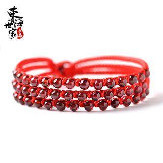 Beaded Woven Bracelet
