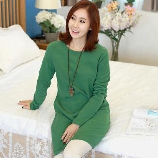 Long-sleeve Pullover Dress
