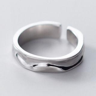 Wavy Ring S925 Silver - As Shown In Figure - One Size