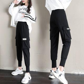 Cargo Jogger Pants / Wide-leg Pants