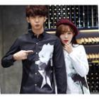Couple Matching Floral Print Shirt