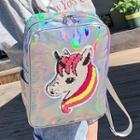 Sequin Unicorn Zip Backpack