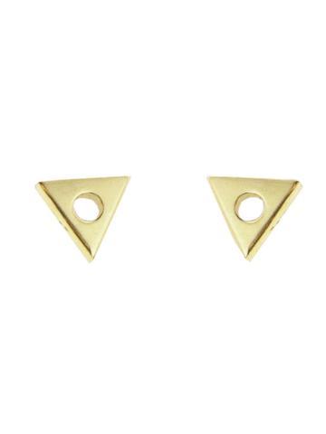 Mociun Mini Triangle Earrings