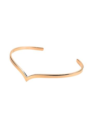 Ginette Ny Wise Cuff - Rose Gold