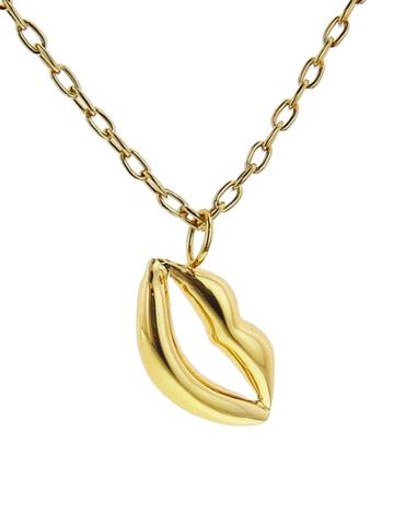 Jennifer Fisher Lips Pendant On Chain