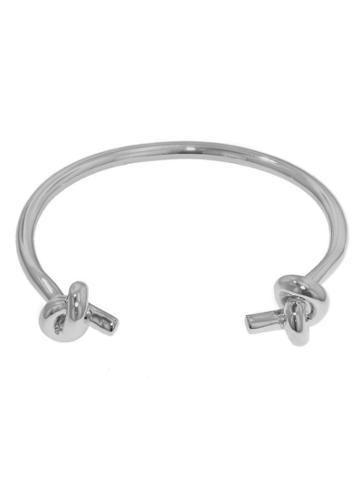Jennifer Fisher Small Double Knot Cuff - Designer Silver Bracelet