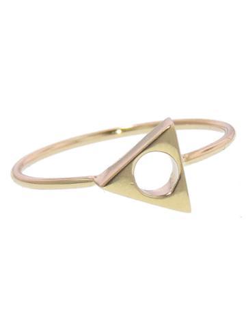 Mociun Triangle Ring