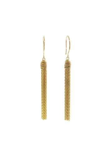 Ylang 23 Caged Fringe Earrings