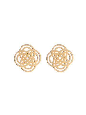Ginette Ny Infinity Stud Earrings