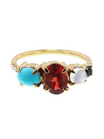 Mociun Mixed Stone Ring