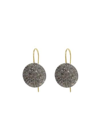 Ylang 23 Diamond Disc Earrings