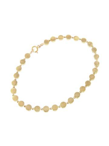 Jennifer Meyer Mini Circle Link Bracelet