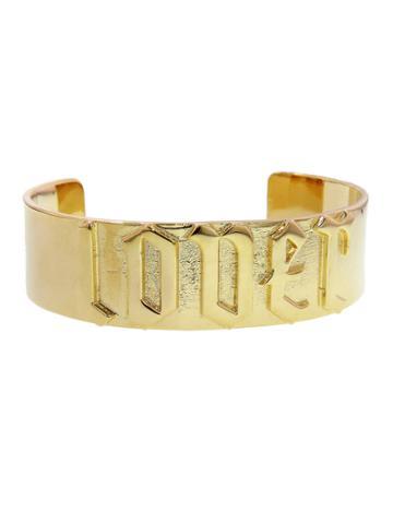 Jennifer Fisher Large Lover Cuff - Yellow Gold