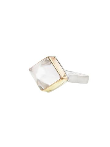 Jamie Joseph Inverted Rock Crystal Kite Ring