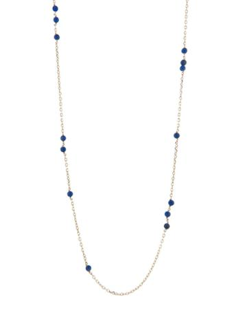 Ylang 23 Lapis Sleeper Necklace