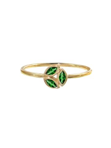 Ylang 23 Tsavorite Hazel Ring - Yellow Gold