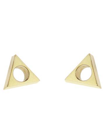 Mociun Triangle Earrings