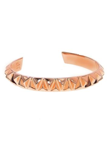 Jennifer Fisher Small Triangular Cuff - Designer Rose Gold Bracelet