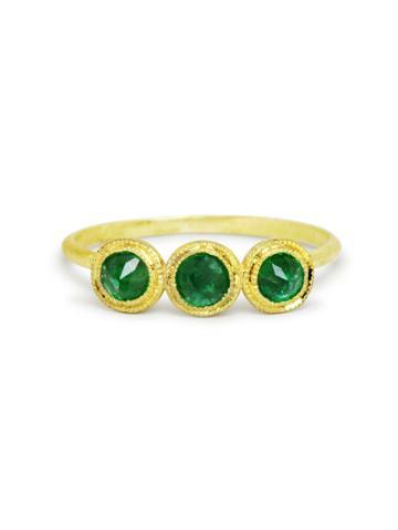 Ila Emerald Juniper Ring
