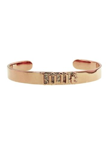 Jennifer Fisher Small Love Cuff - Rose Gold