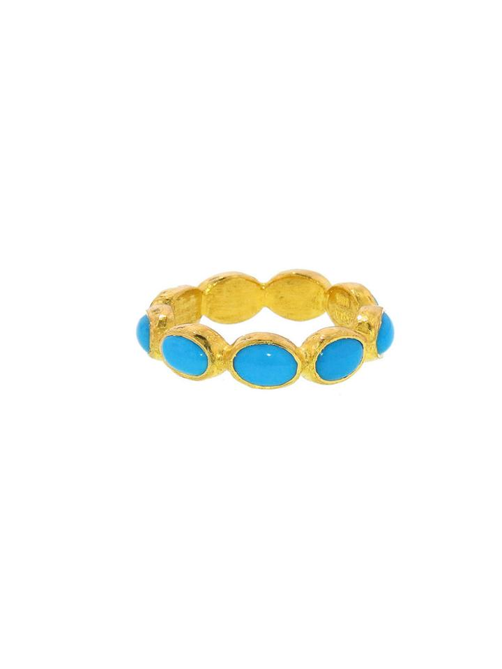 Ara Collection Oval Turquoise Band