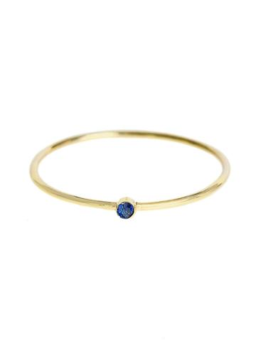 Jennifer Meyer Thin Sapphire Stacking Ring