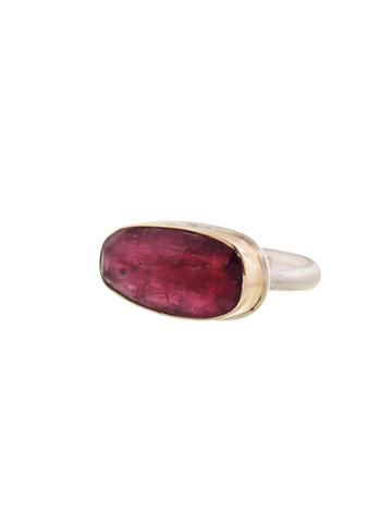 Jamie Joseph Asymmetrical Pink Tourmaline Ring