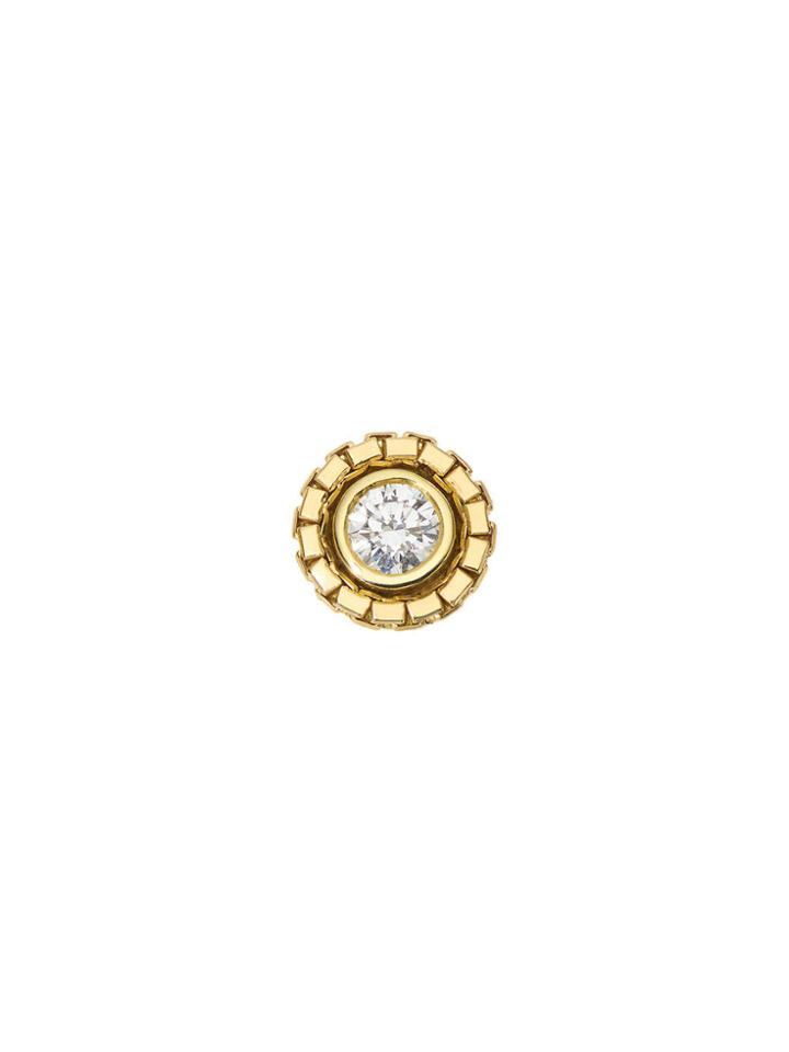 Jemma Wynne Single Round Revival Diamond Stud