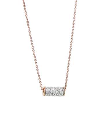 Ginette Ny Mini Straw Diamond Necklace