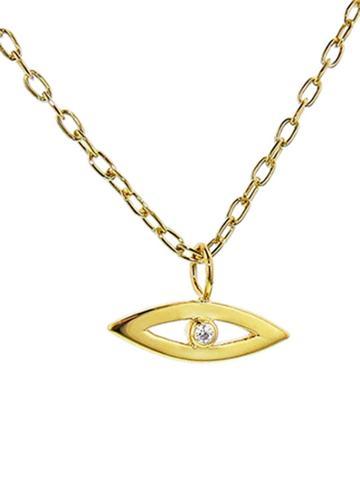 Jennifer Fisher Evil Eye Pendant On Chain